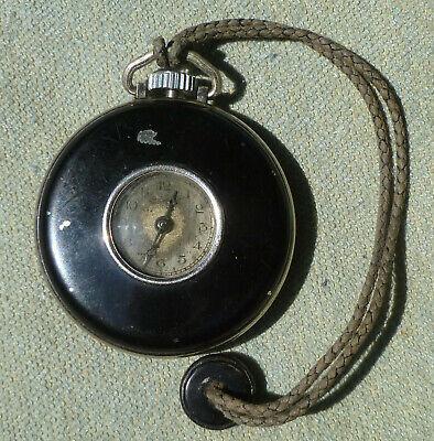 Ingersoll Cord Pocket Watch Vintage