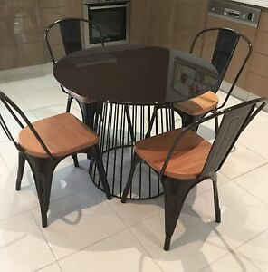 Round dining room suite Ascot Brisbane North East Preview