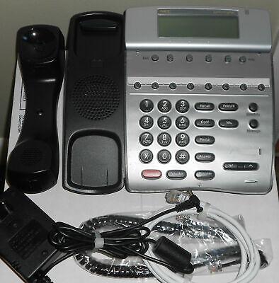 Nec Dterm Ipk Ip Phone Ith-8d-3bktel Good Lcd W Power