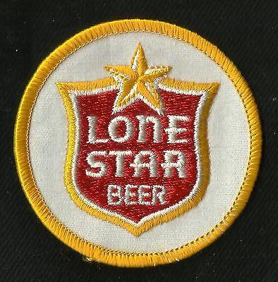 """Vintage Lone STAR Beer 2"""" Collectors Patch - New Old Stock"""