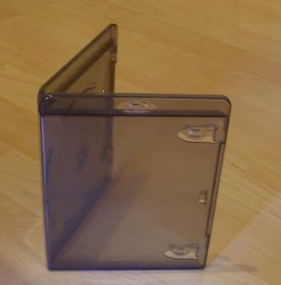 10 Blu Ray Hüllen Einfach 1fach 1-fach schwarz transparent BluRay Blue 1er Neu