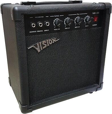 Bass-Verstärker-Combo, Modell B25- 40 Watt -Vision/MSA mit Kopfhörer Eingang