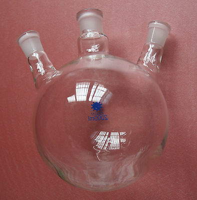 2000ml24293 Necksround Bottom Laboratory Flask2l Glass Bottlethree Neck