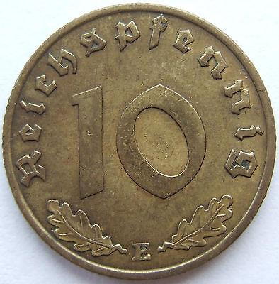 TOP! 10 Pf 1936 E in fast VORZÜGLICH SELTEN !!!