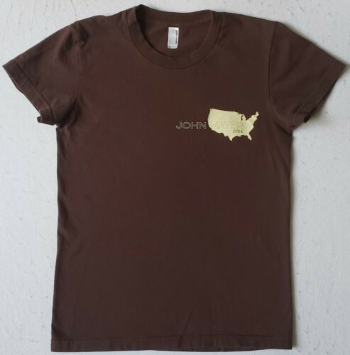JOHN MAYER Tour 2006 Junior Size Medium Brown T-Shirt
