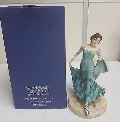 CERAMIC SCULPTURE BY PEGGY DAVIES LIMITED EDITION NO 351 OF 500 WORLDWIDE BOXED