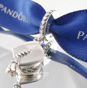 8f0f50a11 ... best price graduation hat authentic pandora silver hard work pays off dangle  charm 791892 87249 81594