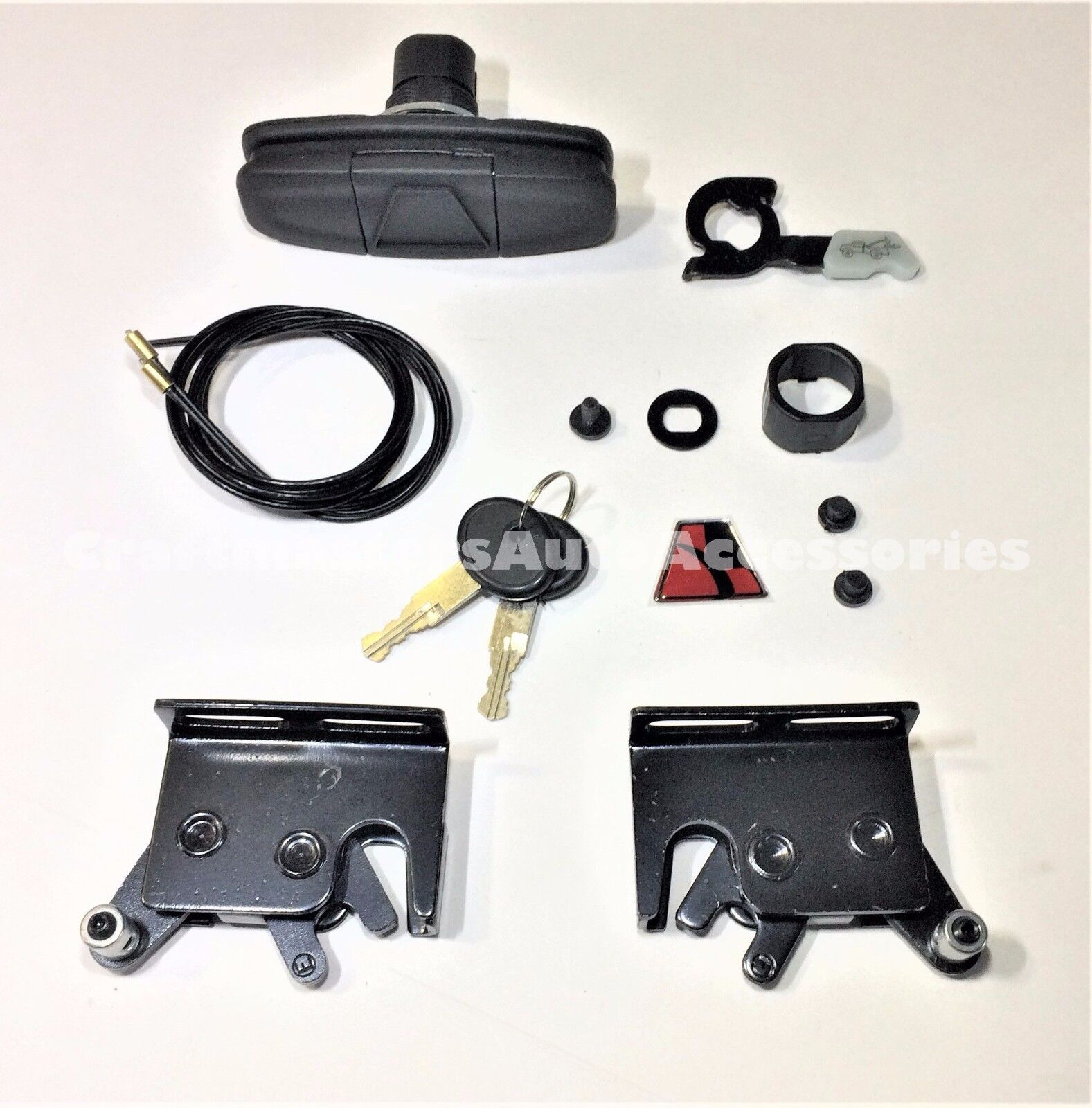 83515 combo LEER Truck cap and Tonneau cover Handle # 113436 and Latches 83514
