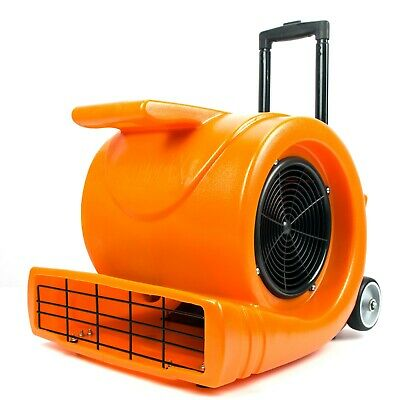 3-speed Air Mover 1.3hp 5000 Cfm Powerful Floor Blower Carpet Dryer