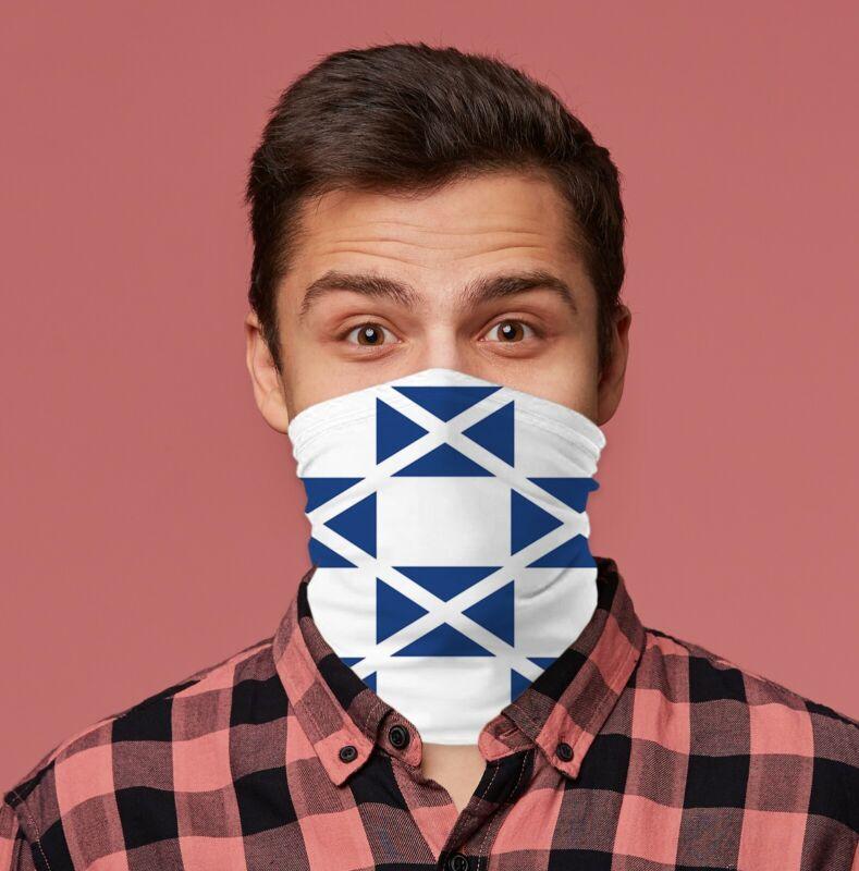 Scotland Flag Design Scottish Neck Tube Neck Warmer Snood