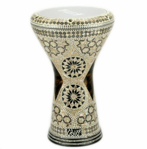 M06 Drum Darbuka tabla doumbek mother of pearl Gawharet El Fan free bag 17 inch