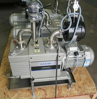Ulvac Model Vdn 601 Oil Sealed Rotary Vacuum Pump Barely Used Year 2013