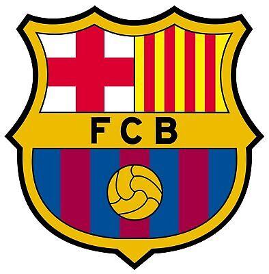 FC BARCELONA SPAIN SOCCER DECAL STICKER 3M USA TRUCK HELMET VEHICLE WINDOW WALL - Soccer Stickers