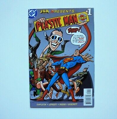 JLA PRESENTS: PLASTIC MAN 38_PAGE SPECIAL #1 AUGUST 1999 HIGH GRADE (Jla Presents)