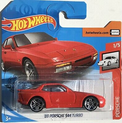 Hot Wheels '89 Porsche 944 Turbo Red 2020 1/5 Porsche NEW Hotwheels Short Card