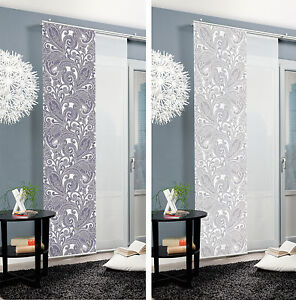 ornamento sliding curtain surface panel room divider partition