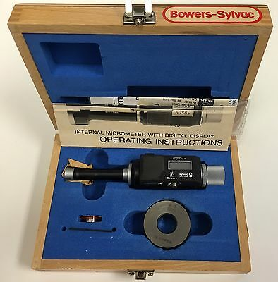 Fowler 54-335-019 Bowers Sylvac Electronic Bore Gage .630-.74816-19mm