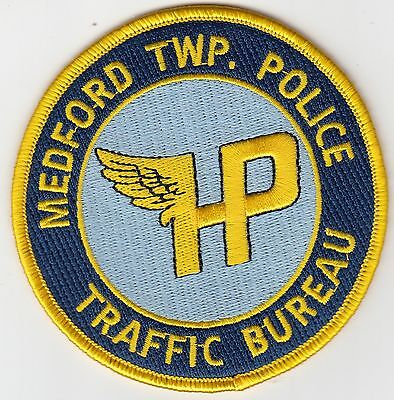 MEDFORD TOWNSHIP TRAFFIC BUREAU POLICE PATCH NEW JERSEY NJ