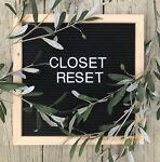 ClosetReset