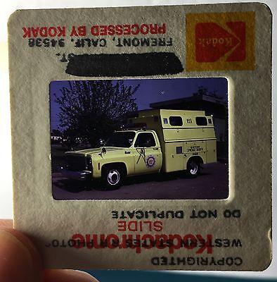 Wunderschönes Foto Dia-Positiv Feuerwehr 1979 Chev./Reading, Nashville