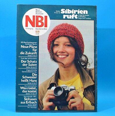 DDR NBI 8 1981 Barchfeld Erlbach Berlin Ludwig Güttler Schinkel Nimmerklug H