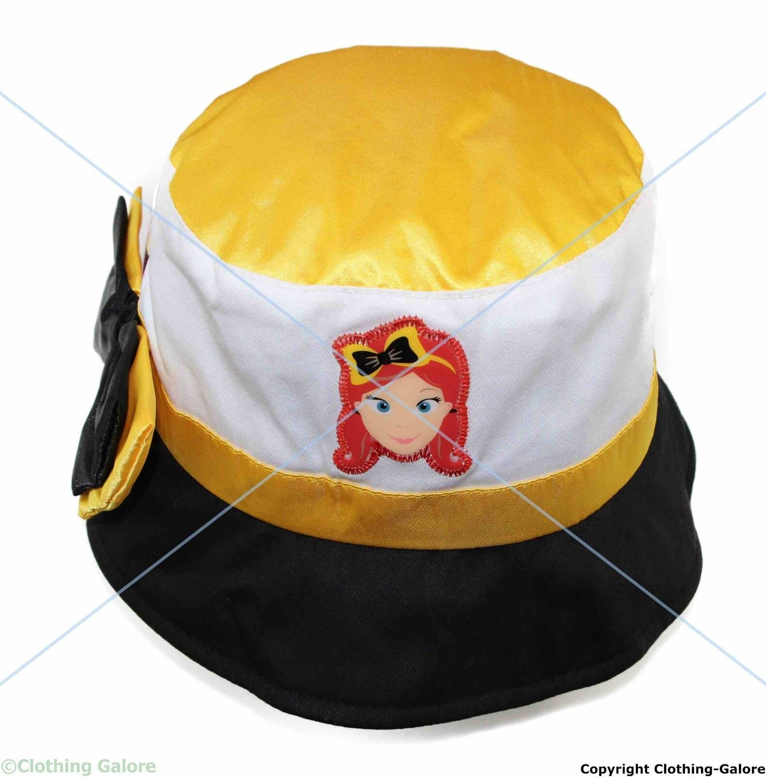 The Wiggles EMMA HAT with Bow - Cap 100% Cotton Summer Beach Bucket ... bf4d64ca1bb