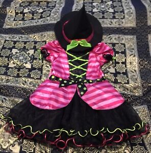 Size 3-4T Witch Costume