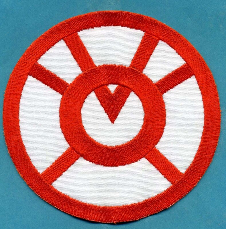 """5"""" Orange Lantern Corps Classic Style Embroidered Patch"""