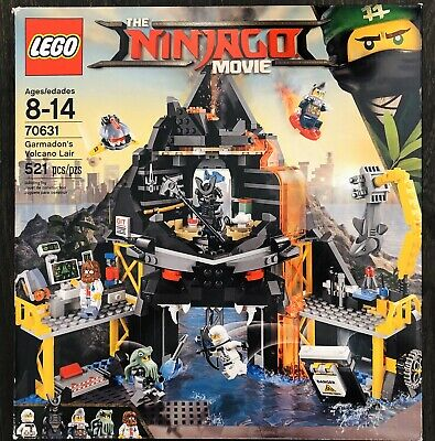 LEGO 70631 - Ninjago Garmadon's Volcano Lair - Factory Sealed Box