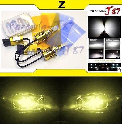 LED Kit Z 96W 9005 HB3 3000K Yellow Two Bulbs Head Light High Beam Compact Size