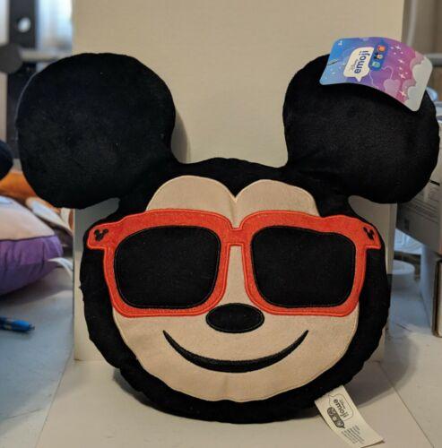 "Disney Emoji ""Mickey Mouse"" with Sunglasses Plush"