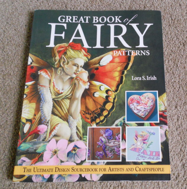 Great Book Of  FAIRY Patterns -Lora S. Sourcebook for Artists & Craftspeople- SC