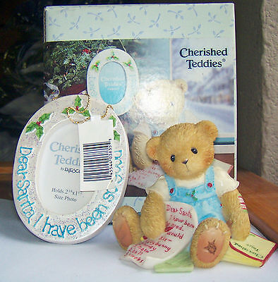 Cherished Teddies Dear Santa I have Been So Good 4002831