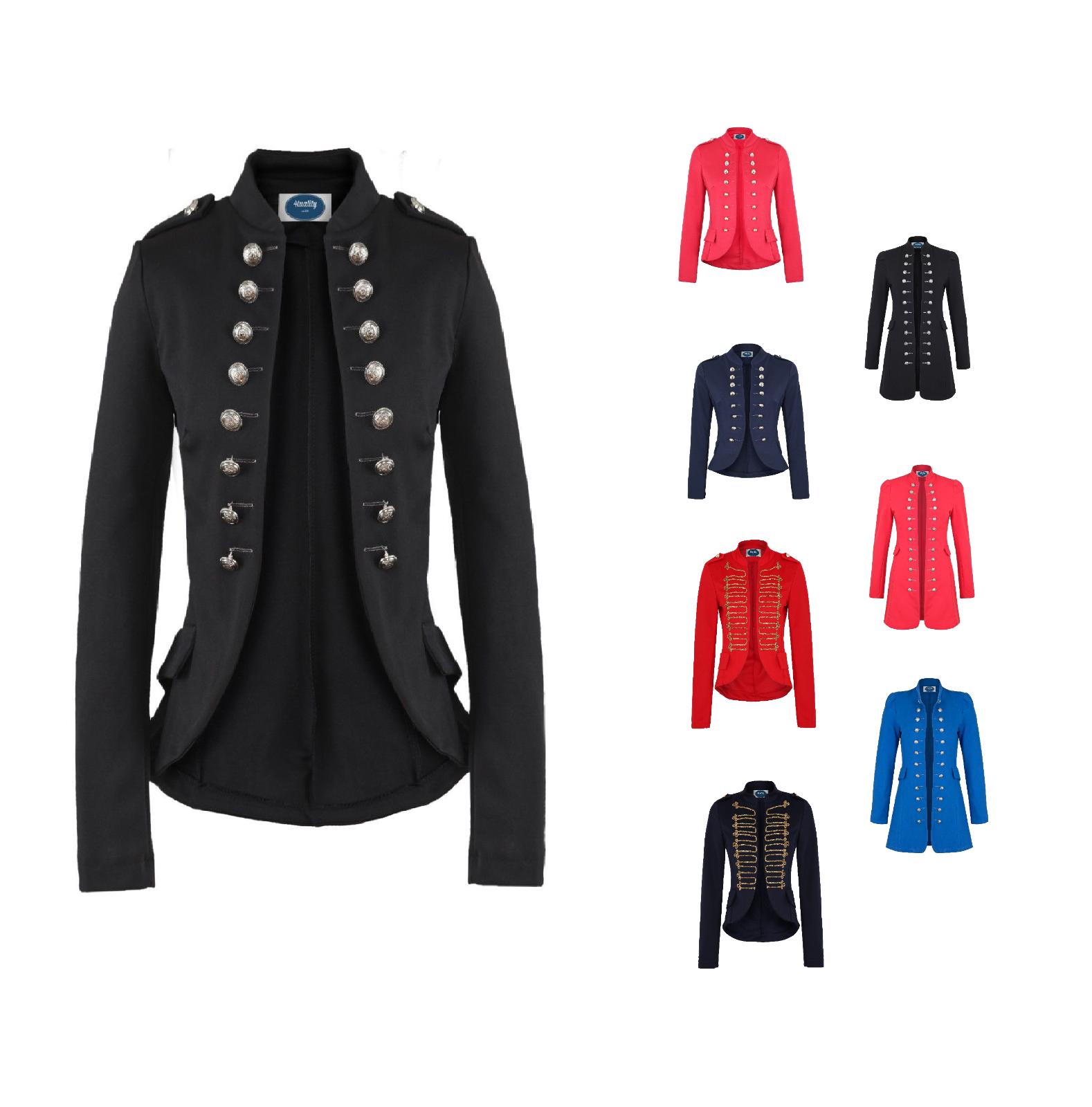 AO Blazer Uniform Stil S M L XL XXL Military Damen Karneval Business Jacke 544dae3ef2