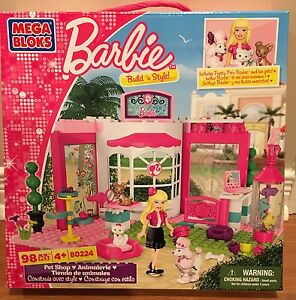 Barbie Mega Bloks (3 sets) - brand new