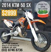 2014 KTM 50 SX - HARDLY RIDDEN PERFECT FOR CHRISTMAS Sunbury Hume Area Preview