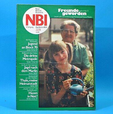 DDR NBI 22 1981 Thale Dean Reed Hagenwerder Kapellendorf Niederschönhausen H
