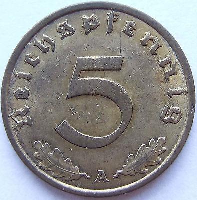 TOP! 5 Pf 1936 A in VORZÜGLICH SELTEN !!!