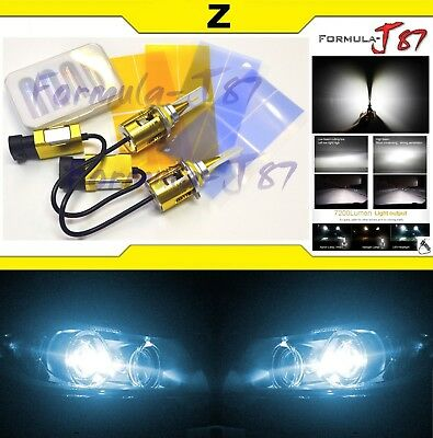 LED Kit Z 96W 9005 HB3 8000K Icy Blue Two Bulbs Head Light Hi Beam Compact Size