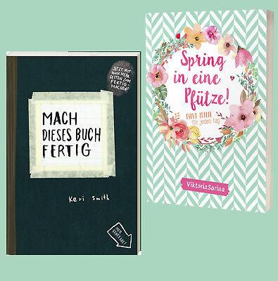 Spring in eine Pfütze Neue Ideen für jeden Tag + Mach dieses Buch fertig  ()