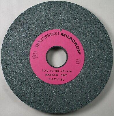"""Camel Surface Grinding Wheel 7/"""" x 3//4/"""" 1-1//4/"""" Hole I Hardness 60 Grit 34644"""