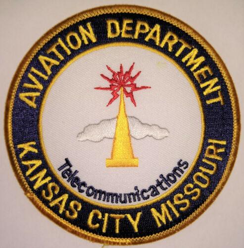 Kansas City Missouri Airport Telecommunications Patch // FREE US SHIPPING!