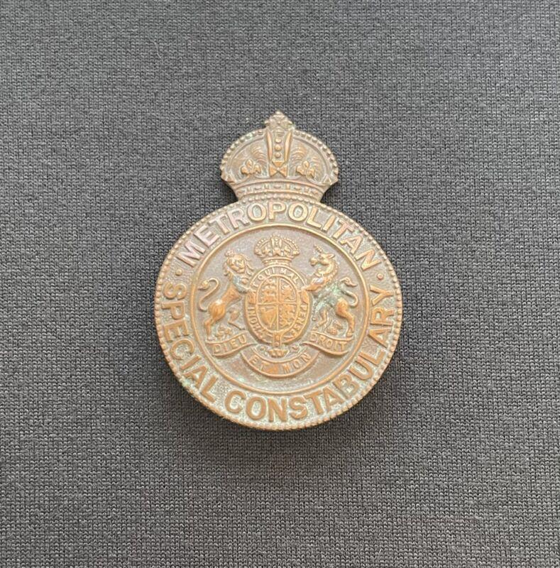 Metropolitan Special Constabulary Badge x 100% Original