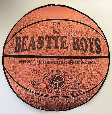 BEASTIE BOYS Original Screen Print Basketball Hello Nasty Poster Sperry Donovan!