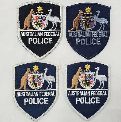POST WW2 ERA OBSOLETE AUSTRALIAN FEDERAL POLICE FORCE UNIFORM PATCHES lot 17