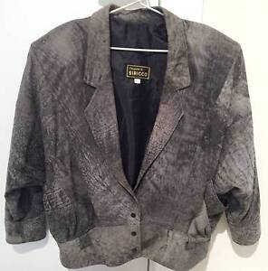 LEATHER JACKET Womens size 14 Fully Lined Like New North Parramatta Parramatta Area Preview