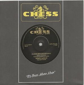 DENISE LASALLE - A LOVE REPUTATION - MINT UK BLACK CHESS  LISTEN