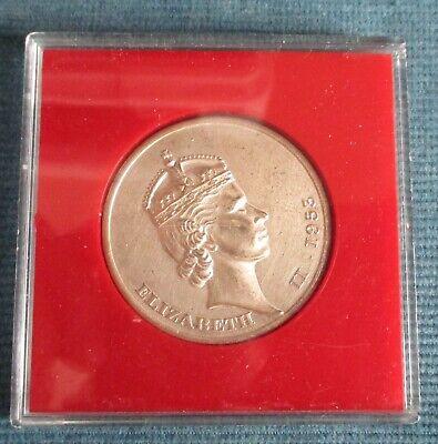 Queen Elizabeth 2 Coronation 1953 Commemorative Medal