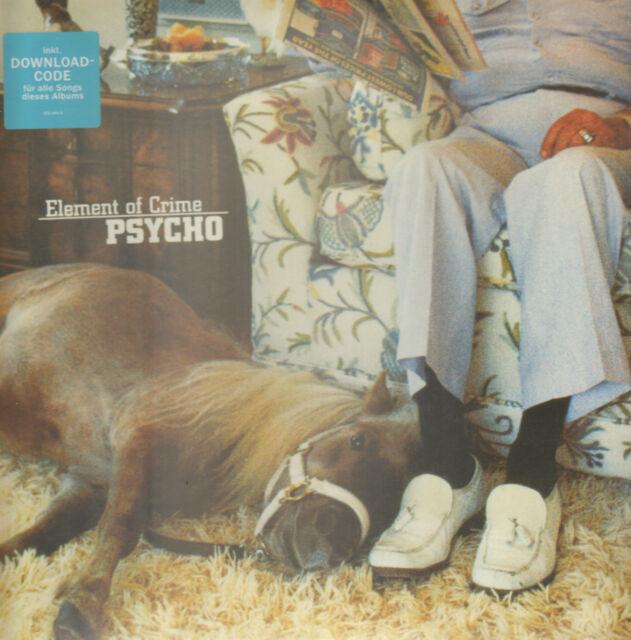 ELEMENT OF CRIME - Psycho    LP+download     !!! NEU !!!     0602537614431