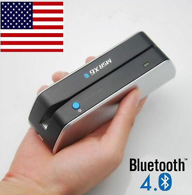 Bluetooth Credit Card Reader Writer Encoder Magnetic Card Swipe Msrx6bt Msr X6bt